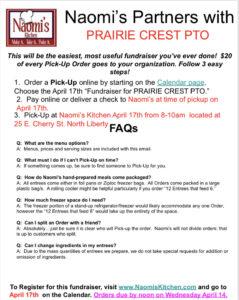 Naomi's Kitchen Order FAQs